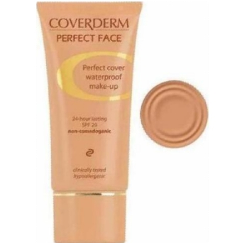 COVERDERM PERFECT FACE SPF 20. Number 2