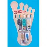 Αντιβακτηριακοί πάτοι παπουτσιών με χλωροφύλλη
